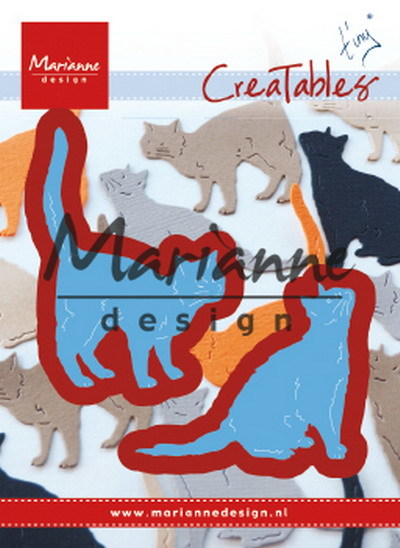 Marianne Design - Creatables -  Tiny´s cats