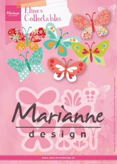 Marianne Design - Collectables - Eline´s butterflies