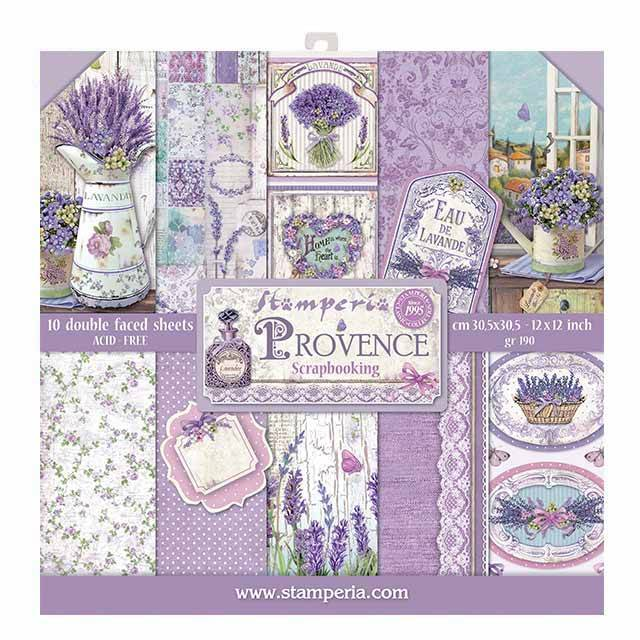 Stamperia - Paper Pack - Provence