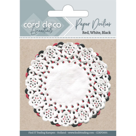 Card deco essentials - Paper Doilies