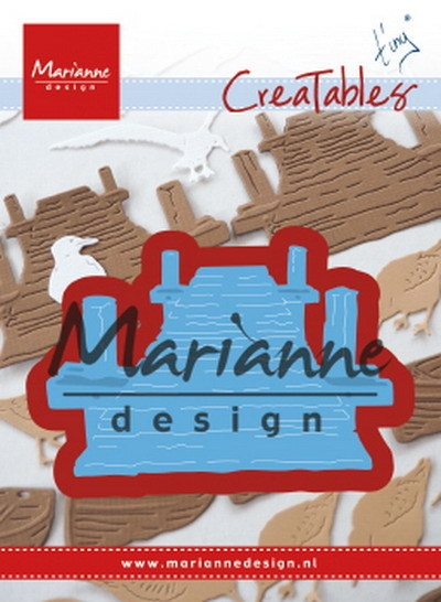 Marianne Design - Creatables - Tiny´s beach jetty