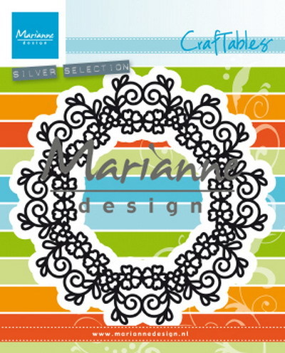Marianne Design - Craftable - Floral doily