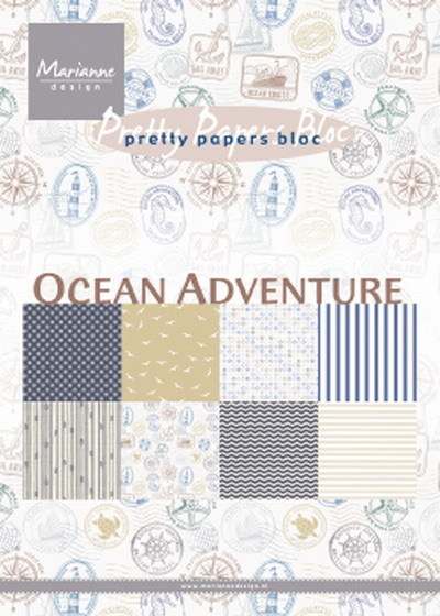 Marianne Design - Pretty papers bloc - Ocean adventure