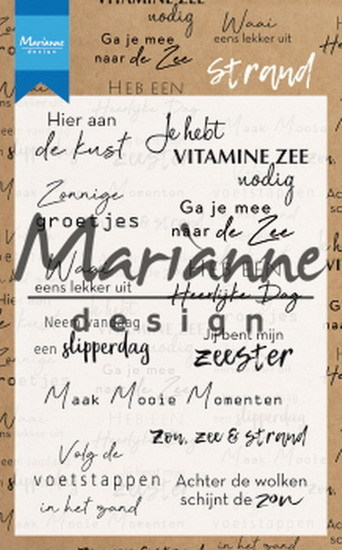 Marianne Design - Clear stamp - Strand