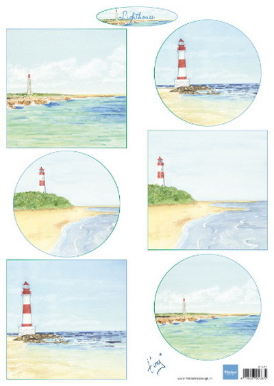 Marianne Design - Knipvel - Tiny´s lighthouses