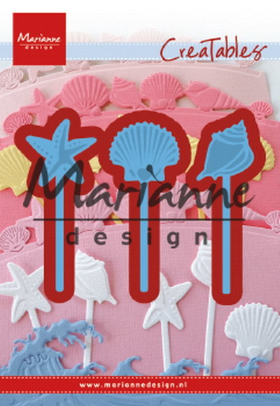 Marianne Design - Creatables - Sea shells pins