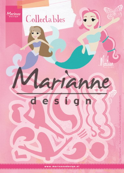 Marianne Design - Collectables - Mermaids by Marleen