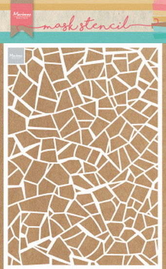 Marianne Design - Mask stencil - Broken tiles