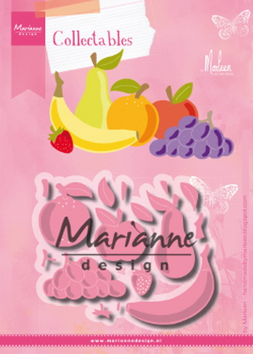 Marianne Design - Collectables - Fruit by Marleen