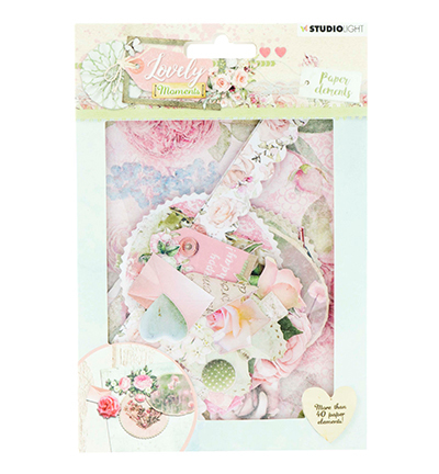 Studio Light - Die cut paper set - Lovely moments - Paper elements