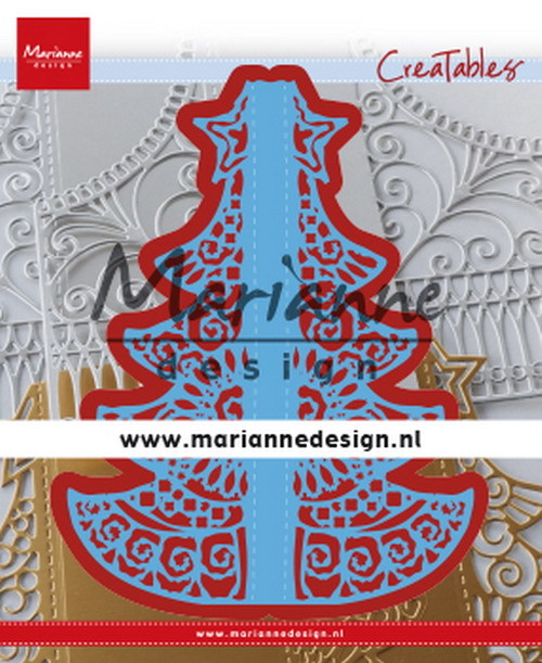 Marianne Design - Creatables -  Gate folding dies - Christmas