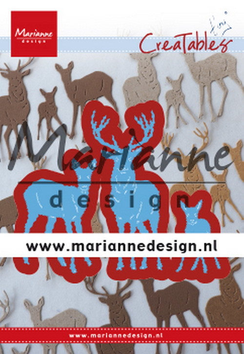 Marianne Design - Creatables -  Tiny´s deer family