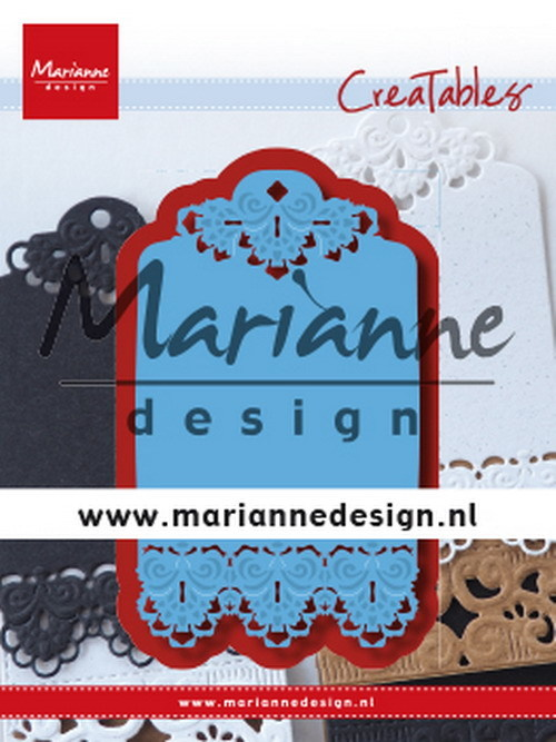 Marianne Design - Creatables -  Brocante label