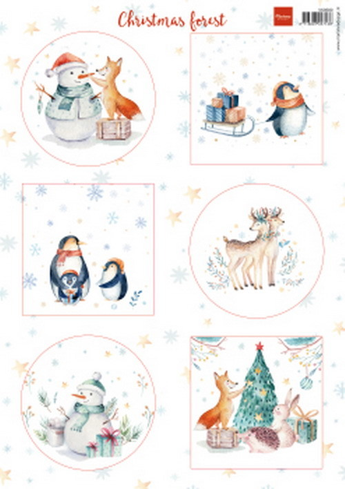 Marianne Design - Knipvel - Christmas forest