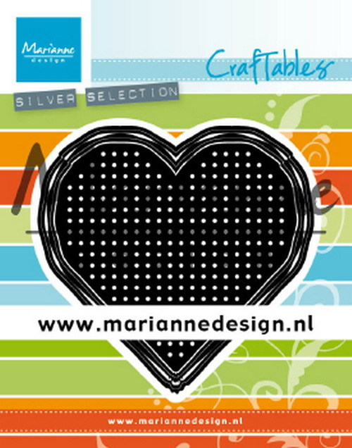 Marianne Design - Craftables - Cross stitch - Heart