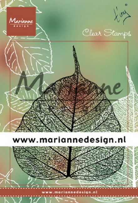 Marianne Design - Clear stamp - Tiny's leaf
