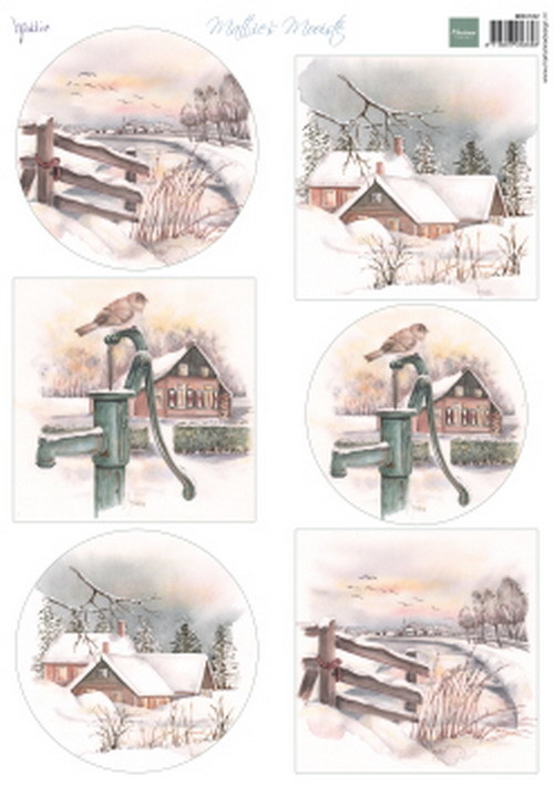 Marianne Design - Mattie's mooiste - Dutch winter