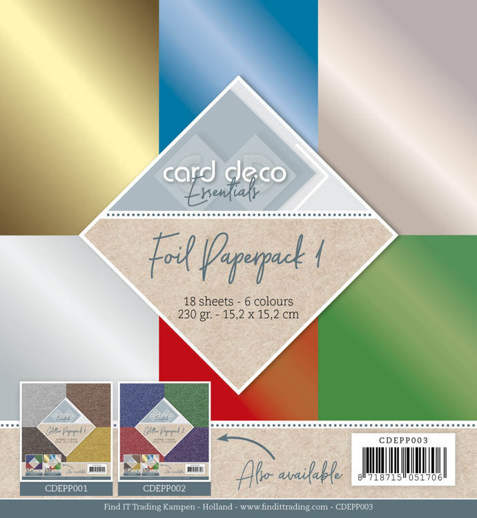 Card Deco / Foil Paperpack 1
