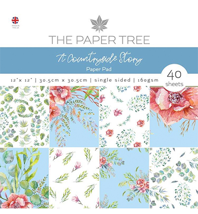 The Paper Tree - Paper pad -The Countryside story