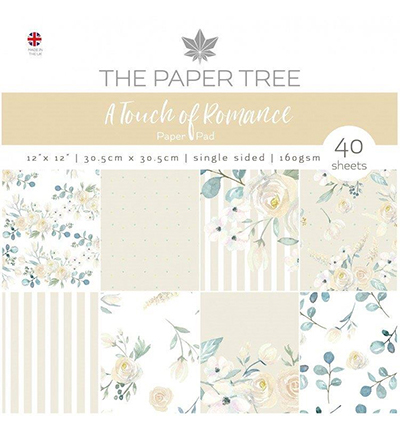 The Paper Tree - Paper pad - A touch of Romance