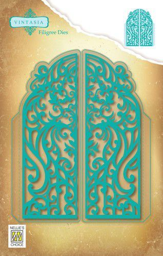 Nellies Choice - Snijmal - Vintasia - Dies - Filigree door