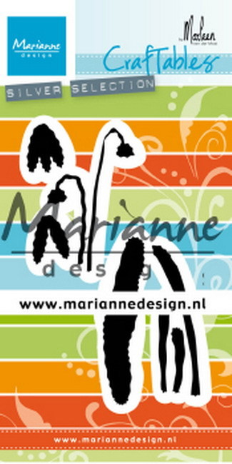 Marianne Design - Craftables - Snowdrop by Marleen