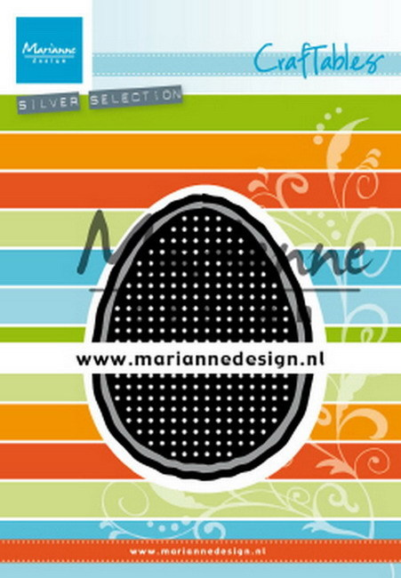 Marianne Design - Craftables - Cross stitch - Easter Egg