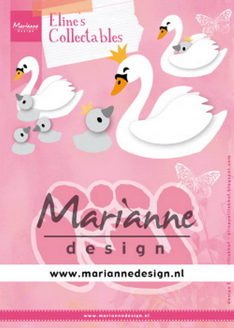 Marianne Design - Collectables - Eline's swan