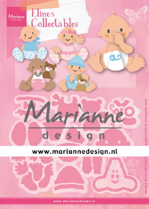 Marianne Design - Collectable - Eline´s babies