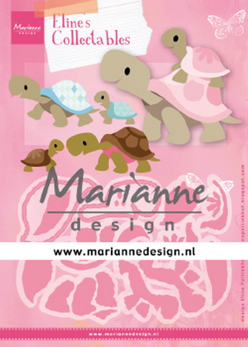 Marianne Design - Collectable - Eline´s Turtles