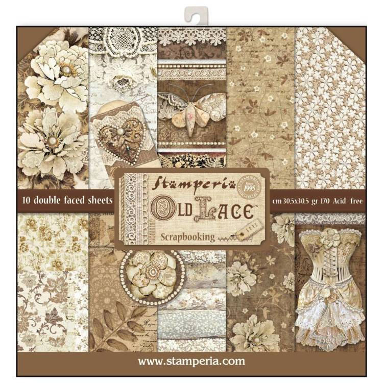 Stamperia - Paper Pack - Old lace