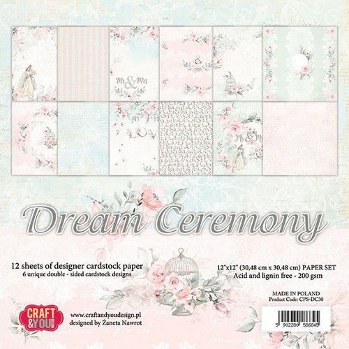 Craft and You - Paperpad - Dream ceremony