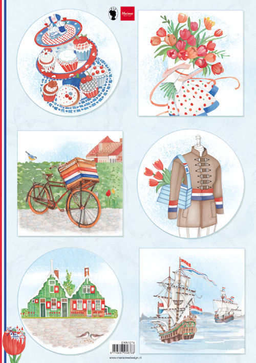 Marianne Design - Knipvel - Ilove Holland - Bicycle