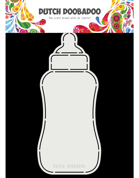 DDBD - Dutch Card Art - Baby Bottle A5