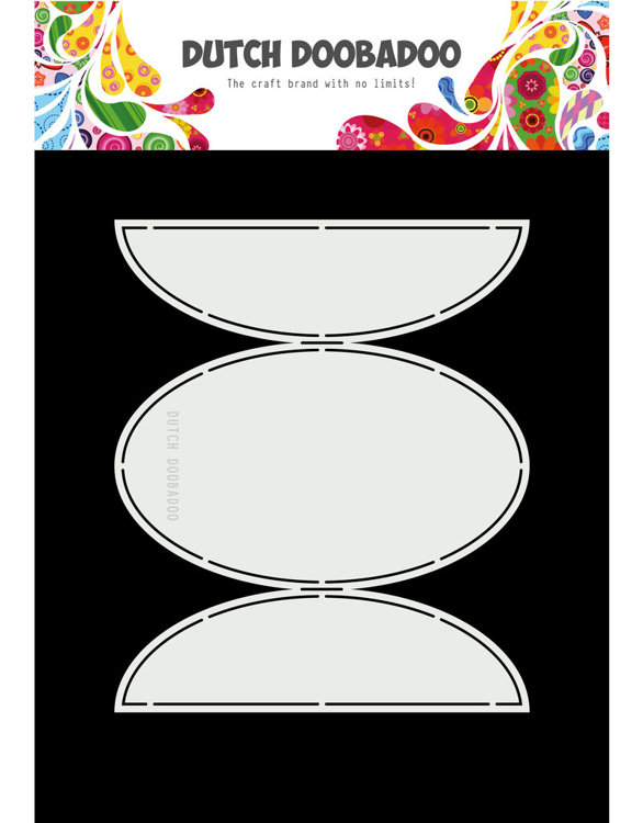 DDBD - Dutch Swing Card Art - Oval flaps A5