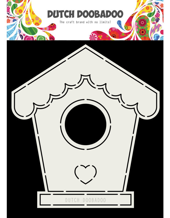 DDBD - Dutch Card Art - Birdhouse A5