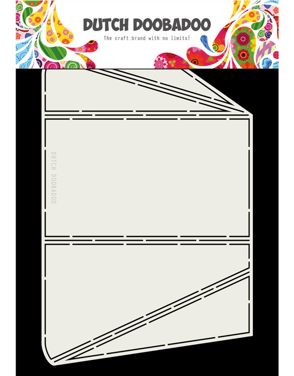 DDBD - Dutch Fold  Card Art - Tuck A4