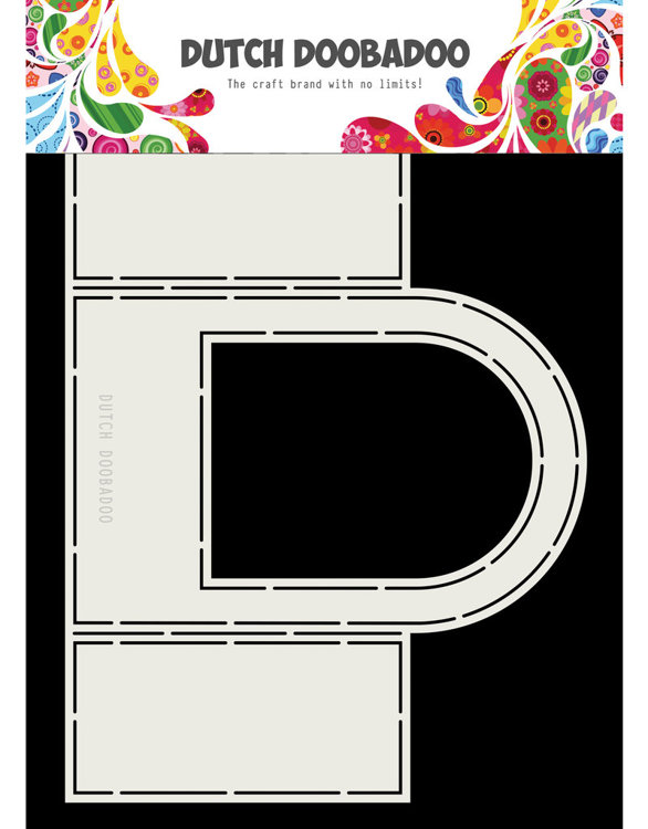 DDBD - Dutch Card Art - Window rounded top - A4