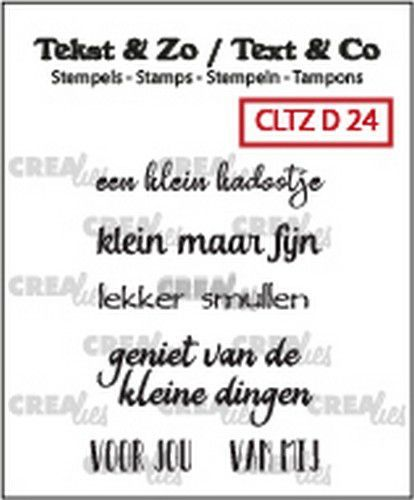 Crealies - stempel - Divers 24