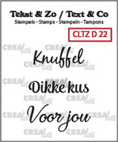 Crealies - stempel - Divers 22