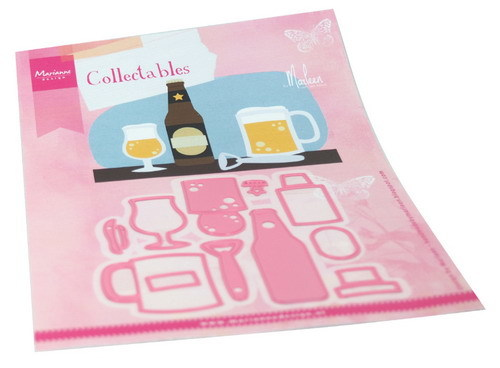 Marianne Design - Collectables  - Beer  by Marleen