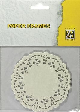 Nellie's choice - Paper frames - Rond