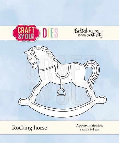 Craft and You - Cutting die - Rocking horse