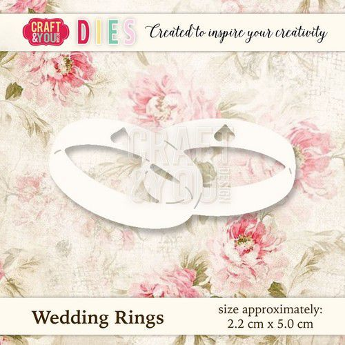 Craft and You - Cutting die - Wedding rings