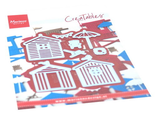 Marianne Design - Creatables -  Beach houses set