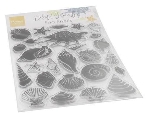 Marianne Design - Clear stamp - Sea shells