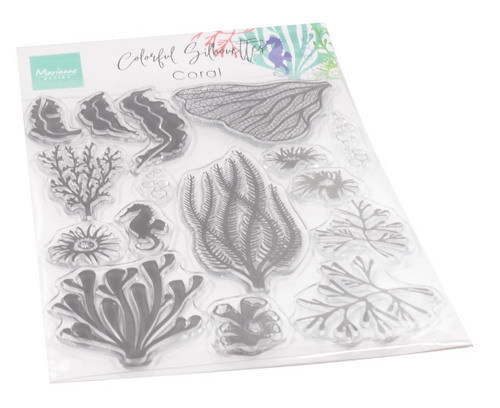 Marianne Design - Clear stamp - Coral