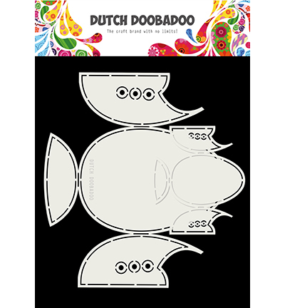 DDBD - Dutch card art - Babyshoes 2 set