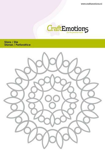 Craft Emotions - Snijmal - FRame rond