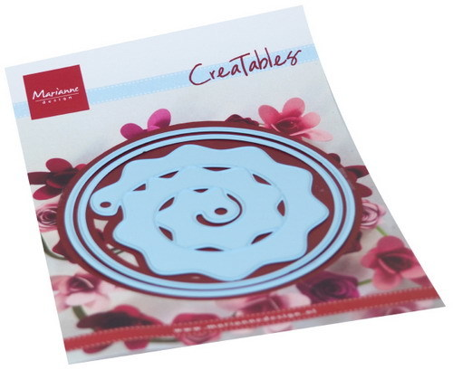 Marianne Design - Creatables - Round box and Flower
